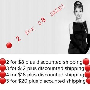 Other - 🔴2 for $8 plus discounted shipping sale🔴